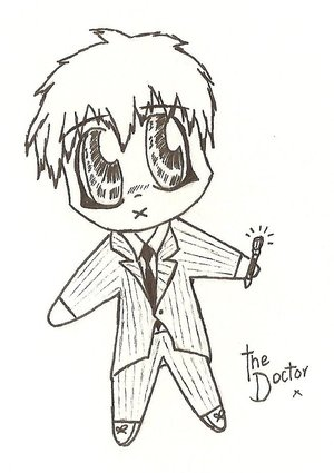 Doctor Plushie by David-Tennant-Fans