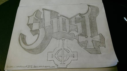 My drawing I did of the Ghost logo