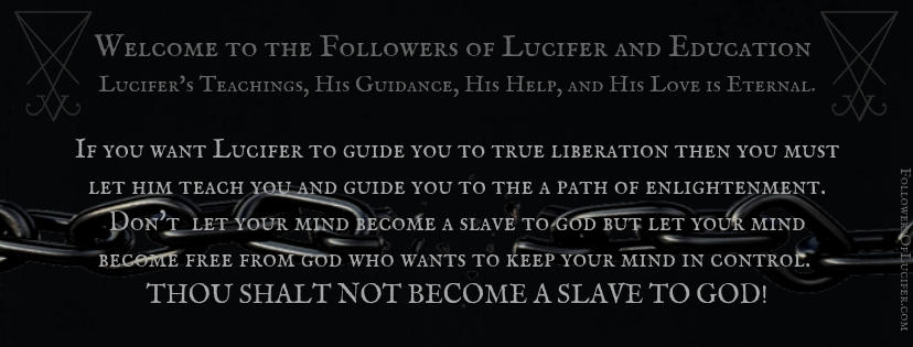 Let Lucifer LIBERATE you!