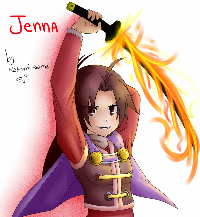 Jenna by nozomi-sama