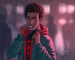Miles Morales by SteppeCrow