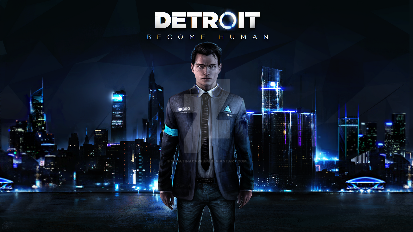 Detroit Become Human Wallpaper Connor: Detroit Become Human__Connor_Wallpaper Engine By