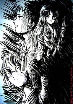 Practice Haruhi characters