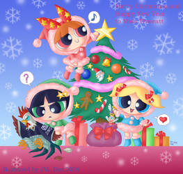 Merry Christmas to friends 4 by jiattmay