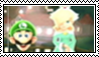 Luigi x Rosalina stamp by luigirulez77