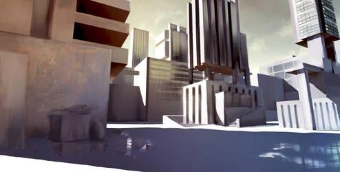 Brutalist City concept