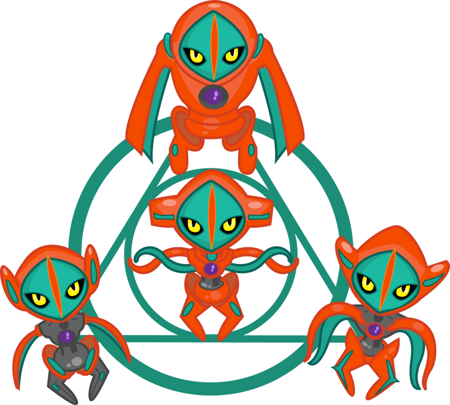 Deoxys and its progeny by PiNkOpHiLiC
