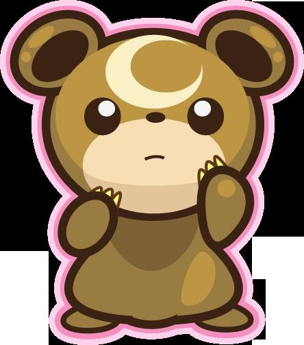 Bear Pokemon Moon bear...