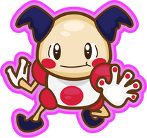 Mr. Mime by PiNkOpHiLiC