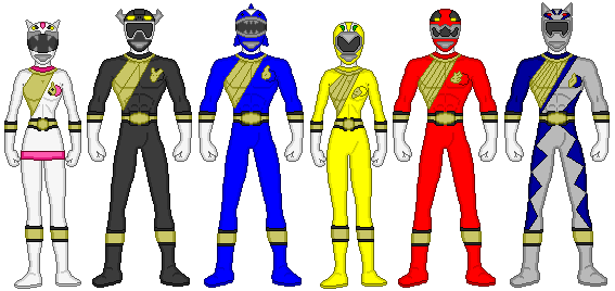 power rangers wild force by firebirdmaximus