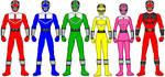 Power Rangers Time Force by firebirdmaximus