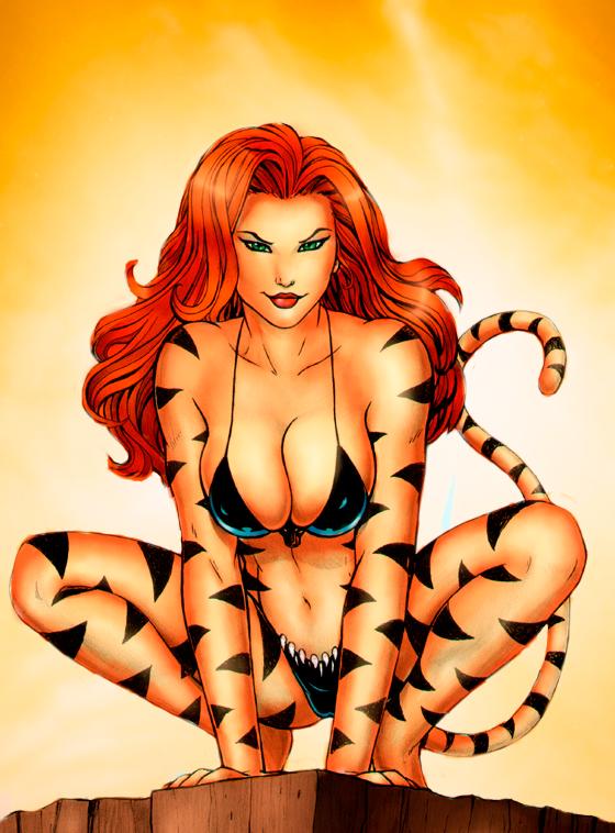 tigra by maddelirium on DeviantArt