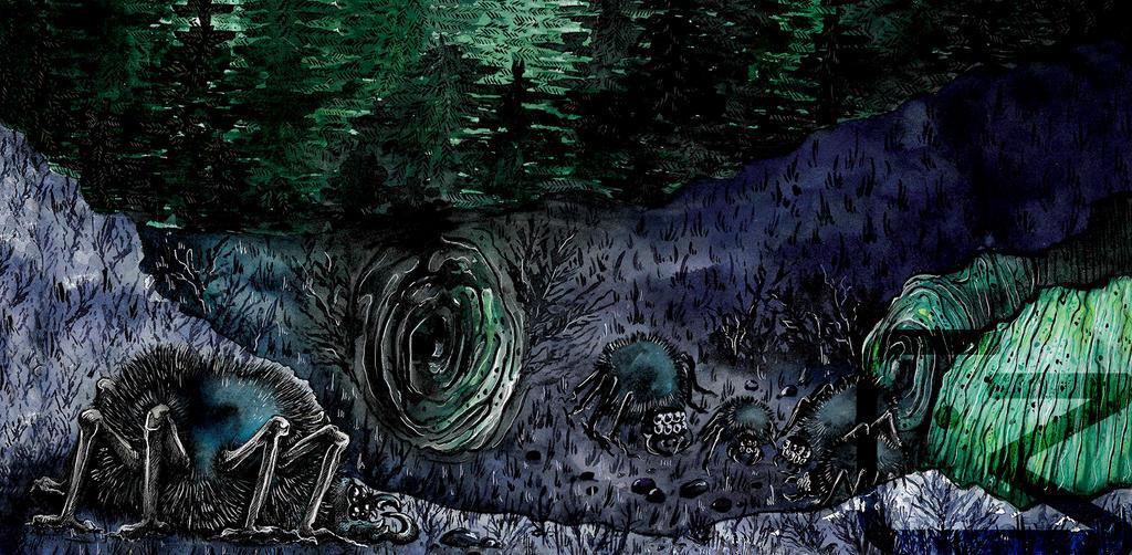 +Acromantula+ Fantastic Beasts by KaworuN