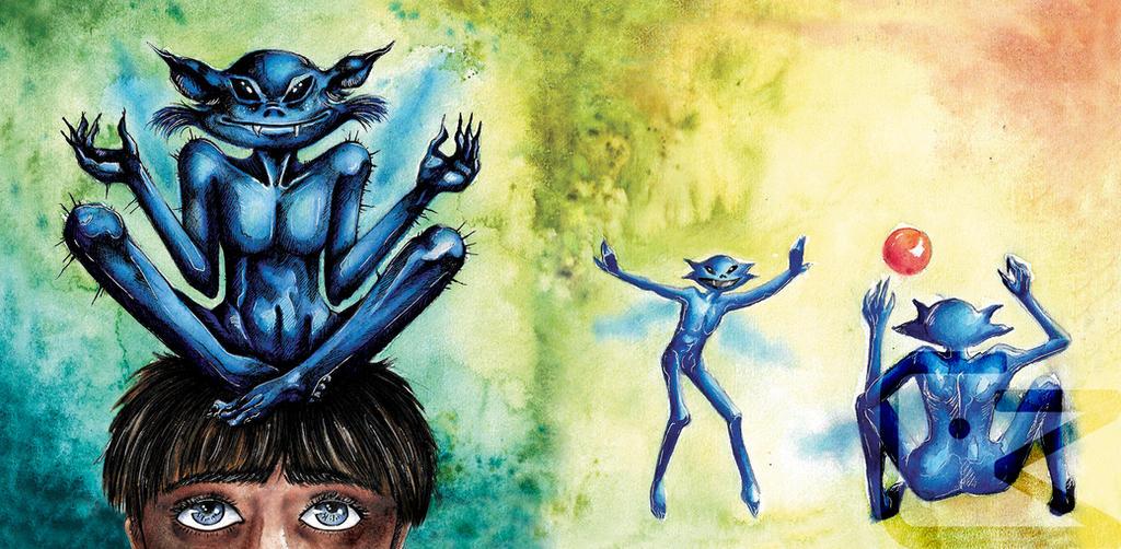 +Pixies+ Fantastic Beasts by KaworuN