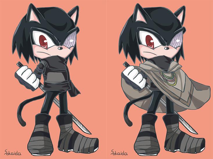 [Cross over] Sasuke the Cat by Sonia25 on DeviantArt  Sasuke As A Cat