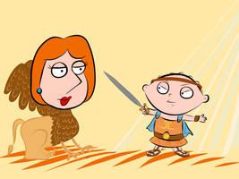 Griffin versus Hercules