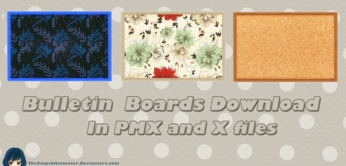 MMD - Bulletin Boards Download