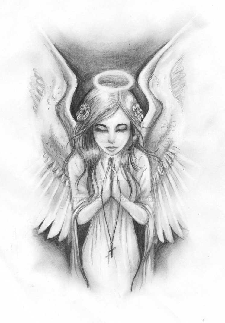 tattoo commission angel by breaisbees on deviantart. Black Bedroom Furniture Sets. Home Design Ideas