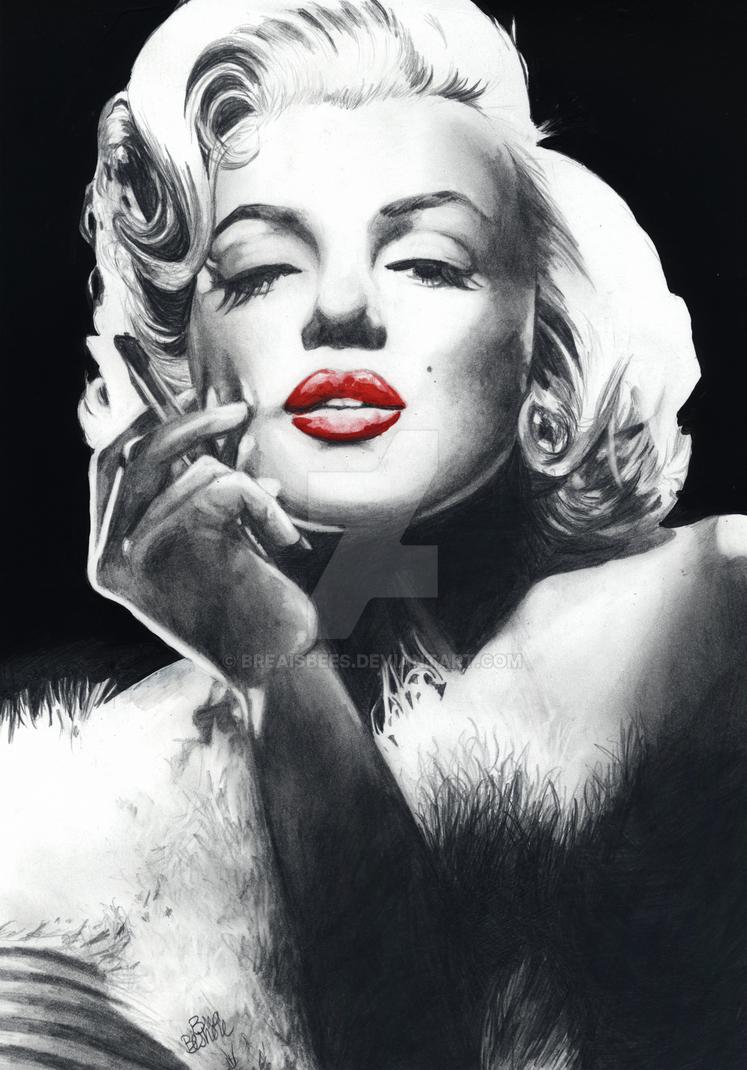 Marilyn monroe print control strip, mena suvari sex