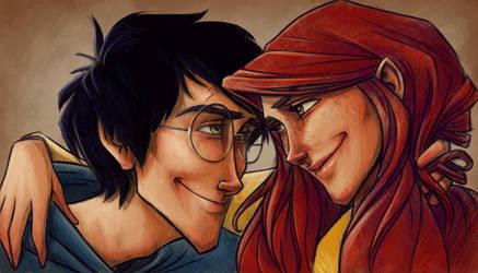 Harry and Ginny by keepsake20