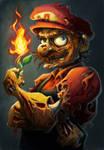 Zombie Mario...