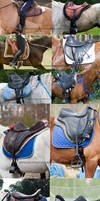 Saddle stock 2 by Colourize-Stock
