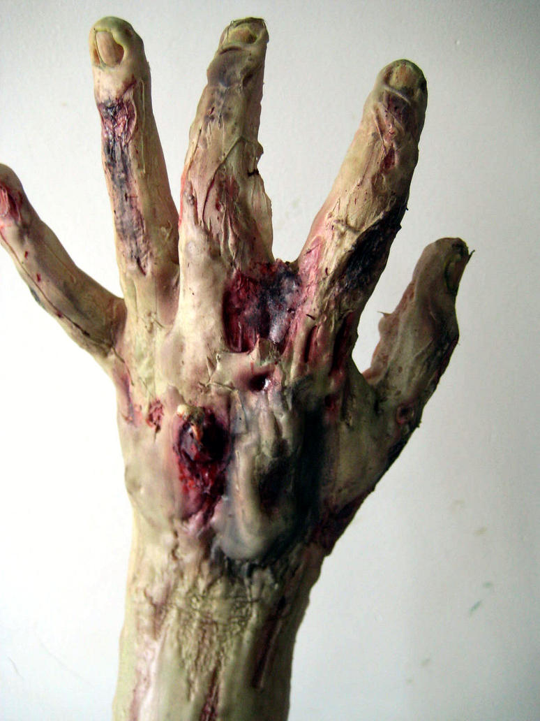 Zombie Hand by KRSkreations