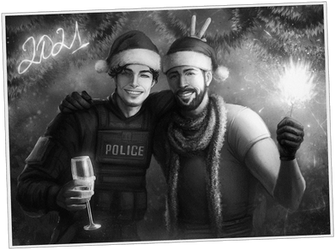 Christmas card [Commission]