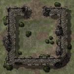 Crumbling Fort TileFMM23