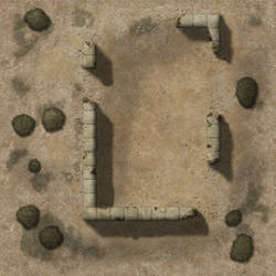 Desert Ruins TileAD17