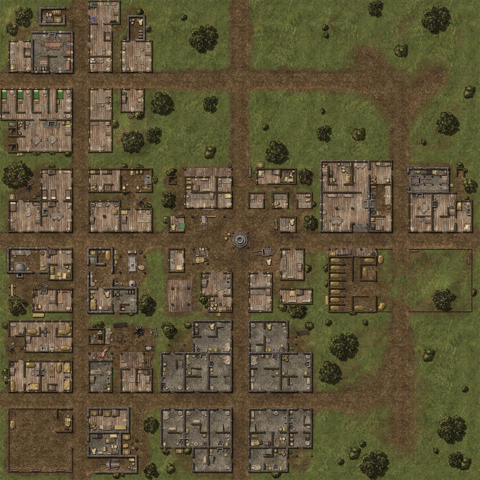 City Street Map Pathfinder