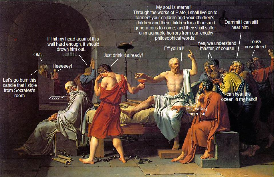 an overview of the role of socrates on death Socrates and plato i  (a mind constantly striving for an overview of the totality of things human and divine)  the philosopher and death.