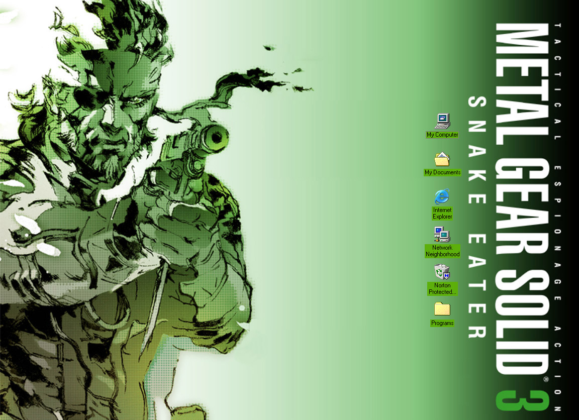 Metal Gear Solid 3 Snake Eater By Viruste On Deviantart