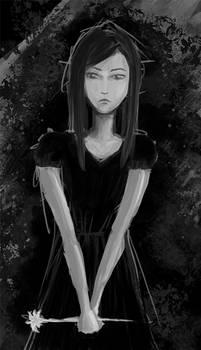 Girl in Black QS