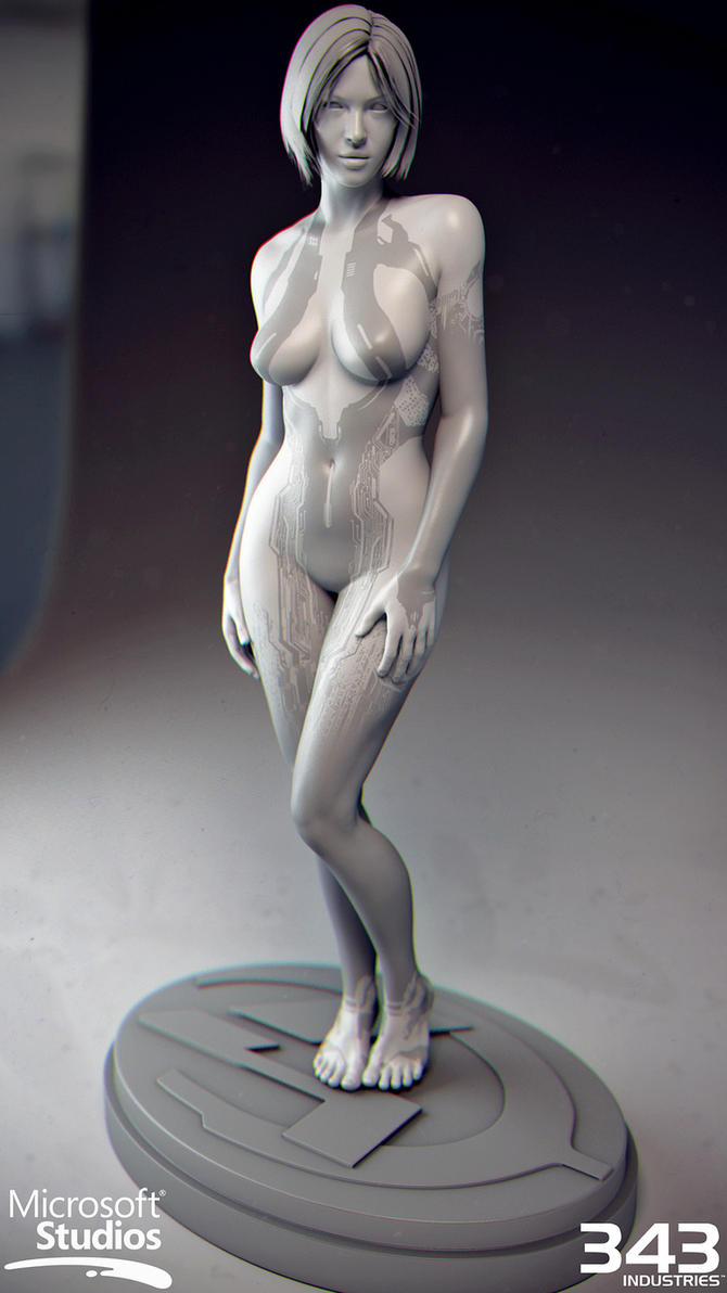 Cortana de halo desnuda nude film