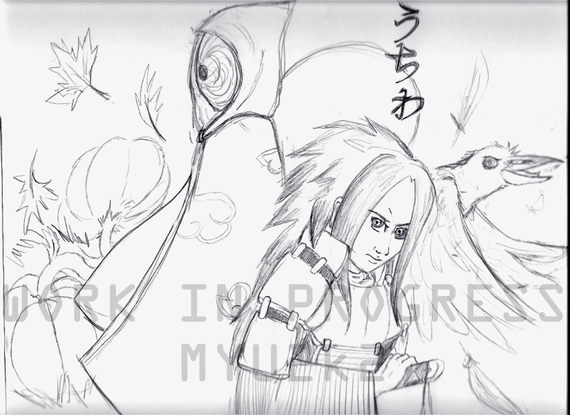 WIP Madara-Tobi Halloween WP by myu2k2