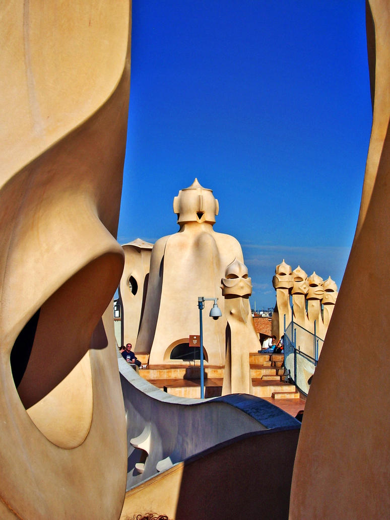 La Pedrera, Barcelona, Spain by MDominy