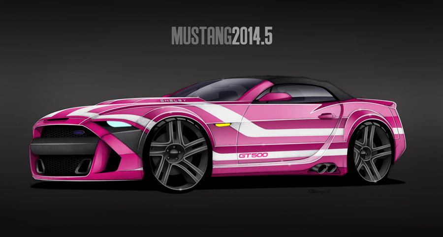 20145 mustang shelby gt500 by mdominy on deviantart - Mustang 2014 Purple