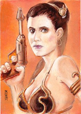 Obligatory Slave Leia by kohse