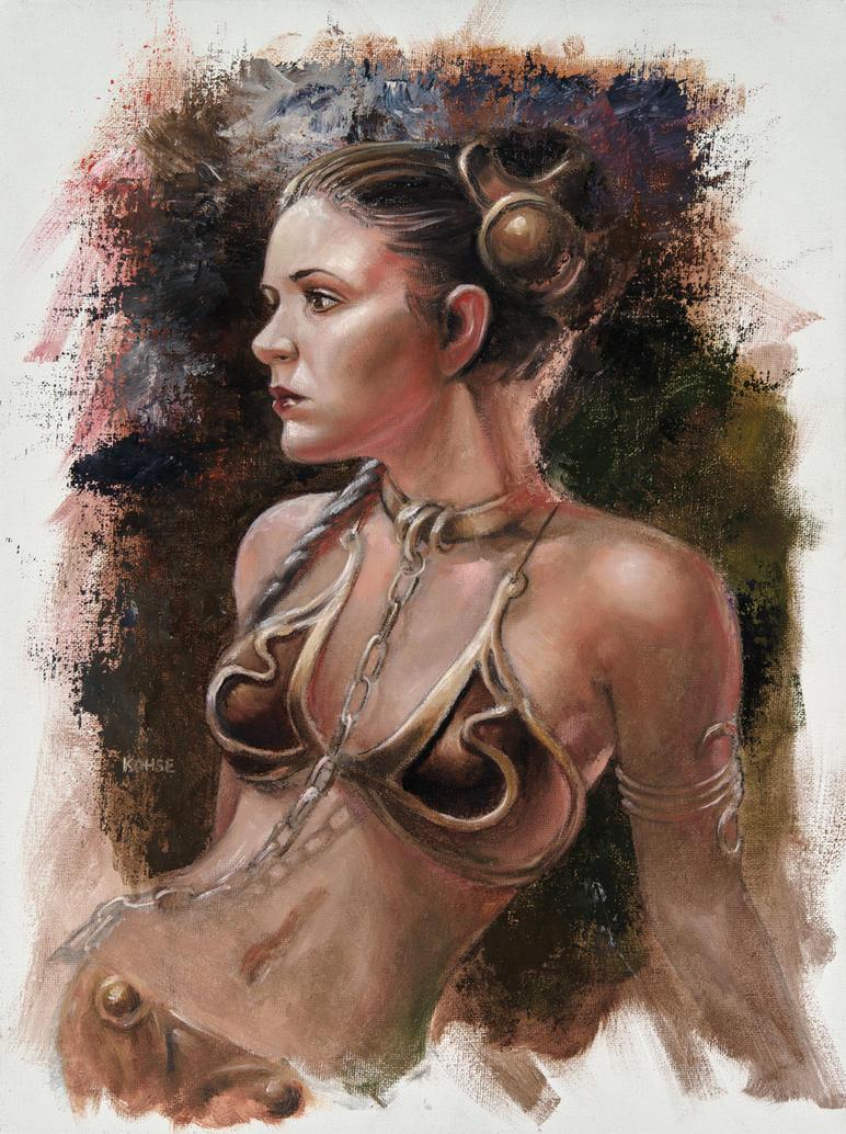 Leia Study by kohse