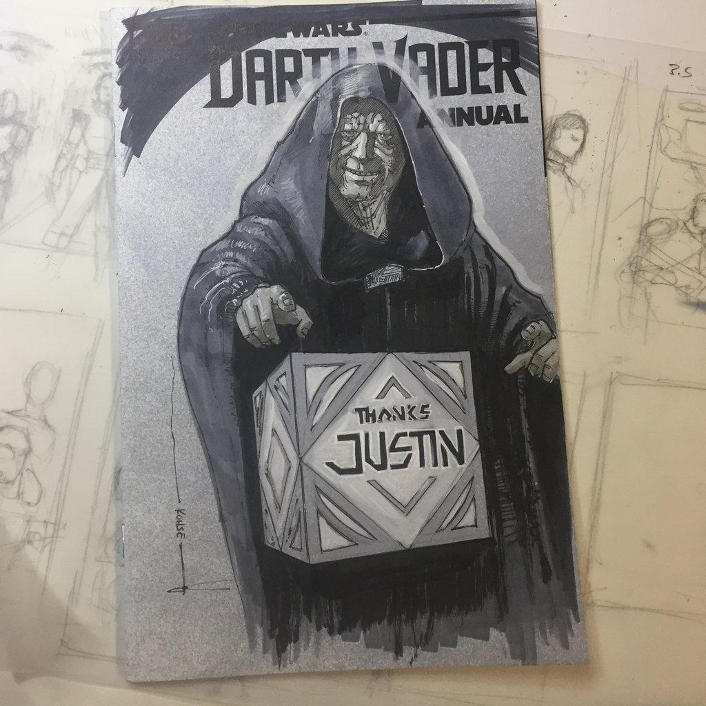 Star Wars Sketch Cover by kohse