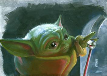 Baby Yoda Gear Shift