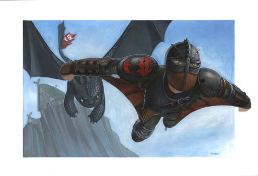 How to Train Your Dragon: Dive