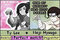 Lee and Neji...O RLY?