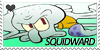 Squidward Stamp by Liet-Avery