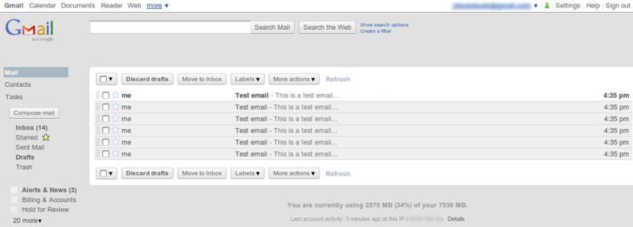 Gmail Elementary by jdorenbush