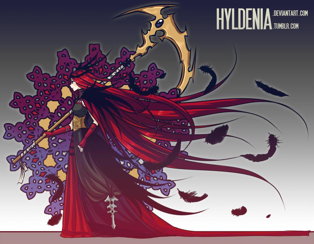 La Dame Aux Corbeaux by Hyldenia