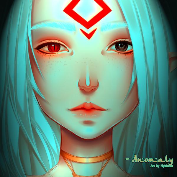 OC - Anomaly by Hyldenia
