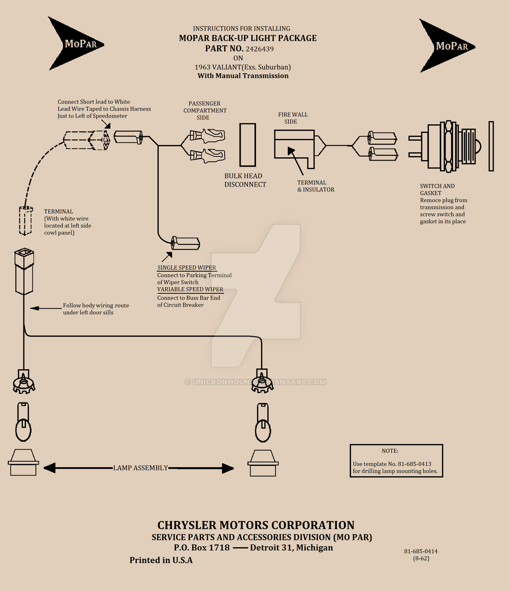 Wiring Diagram 1963 Valiant Reverse Lights By Unicronhound On Deviantart Light