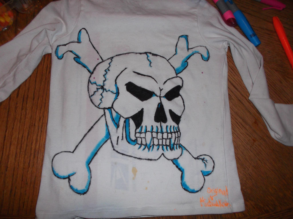 Skull Shirt by UnicronHound
